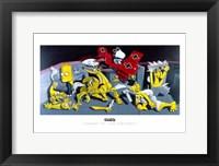 Snoopy vs. The Simpsons Fine-Art Print