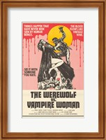 Werewolf vs. the Vampire Women Fine-Art Print