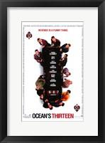 Ocean's Thirteen (White) Fine-Art Print