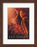 The Last Samurai Ken Watanabe Fine-Art Print
