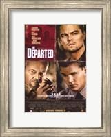 The Departed Damon DiCaprio Nicholson Fine-Art Print