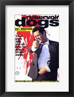Reservoir Dogs Mr. Blonde Shooting Fine-Art Print