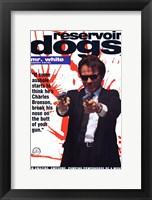 Reservoir Dogs Mr. White Shooting Fine-Art Print