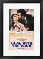 Gone With The Wind Kiss on the Cheek Fine-Art Print
