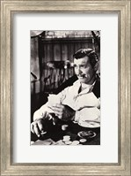 Gone With The Wind Clark Gable Black & White Fine-Art Print
