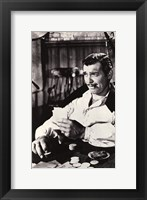 Gone With The Wind Clark Gable Black & White Fine-Art Print