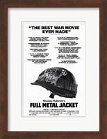 Full Metal Jacket Black and White Fine-Art Print