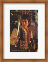 Lord of the Rings: Fellowship of the Ring Frodo with Sword Fine-Art Print