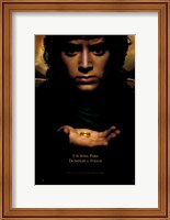 Lord of the Rings: Fellowship of the Ring Frodo with Ring Fine-Art Print