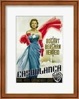 Casablanca Blue Dress Fine-Art Print
