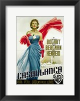Casablanca Blue Dress Fine-Art Print