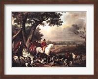 Hunt in the Park in Fountainbleau Fine-Art Print