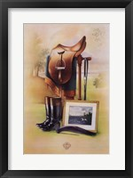 Equestrian Illustration II Fine-Art Print