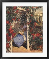 Evan Wilson - The Rose Garden Fine-Art Print