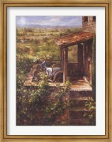 Tuscan Patio Fine-Art Print