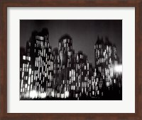 Central Park South 1947 (large) Fine-Art Print