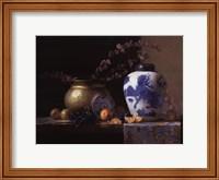 Blue China Vase Fine-Art Print