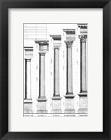 The Five Orders of Architecture Fine-Art Print