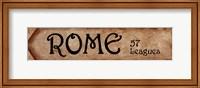 Rome - 57 Leagues Fine-Art Print