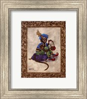 Monkey With Concertina Fine-Art Print