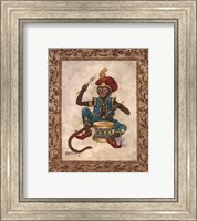 Monkey With Drum Fine-Art Print