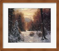 Snow Covered Morning Fine-Art Print