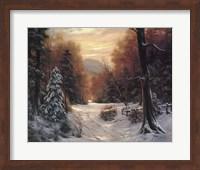 Snow Covered Morning Fine-Art Print
