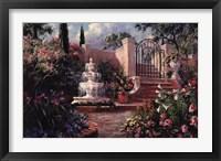 Fountain Garden Fine-Art Print