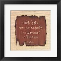 Faith Is The Key Fine-Art Print