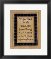 To Three Things Fine-Art Print