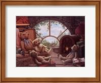 Bears In The Attic Fine-Art Print