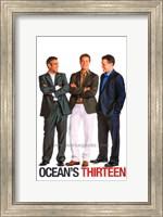 Ocean's Thirteen (Clooney, Pitt, Damon) Fine-Art Print