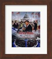 2009 Barack Obama Inaugural Portrait Plus Fine-Art Print