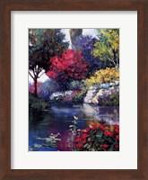 Garden Over The Pond Fine-Art Print