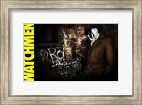 Watchmen - style AI Fine-Art Print