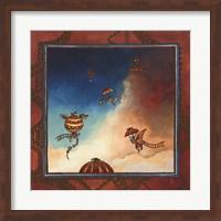 Voyage en ballon Fine-Art Print