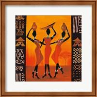 Three Gatherers Fine-Art Print