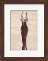 Fashion Dress II Fine-Art Print