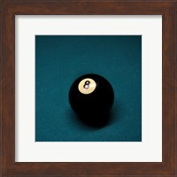 8 Ball on Blue Fine-Art Print