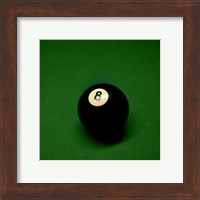 8 Ball on Green Fine-Art Print