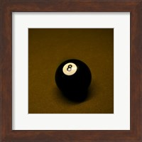 8 Ball on Brown Fine-Art Print