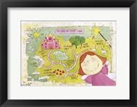 Map of Fairy Island Fine-Art Print