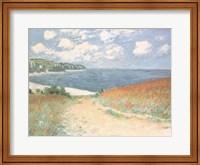 Chemin Dans Les Bles A Pourville Fine-Art Print