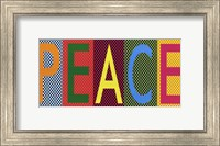 Peace - Bright Colors Fine-Art Print
