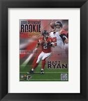 Matt Ryan 2008 Rookie of the Year Portrait Plus Fine-Art Print