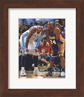 Carmelo Anthony & Kobe Bryant 2008-09 Playoff Action Fine-Art Print