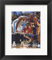 Carmelo Anthony & Kobe Bryant 2008-09 Playoff Action Fine-Art Print