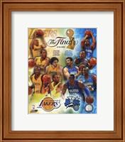 '09 NBA Finals Match Up - Lakers / Magic Fine-Art Print