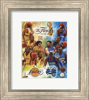 '09 NBA Finals Match Up - Lakers / Magic Fine-Art Print