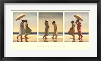 Summer Days Triptych Fine-Art Print